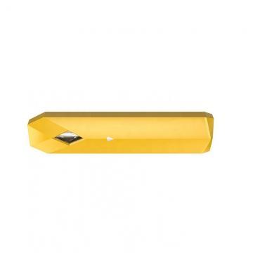 Black Color Plastic Tube Top Filling Disposable Ceramic Vape Pen for Cbd Oil